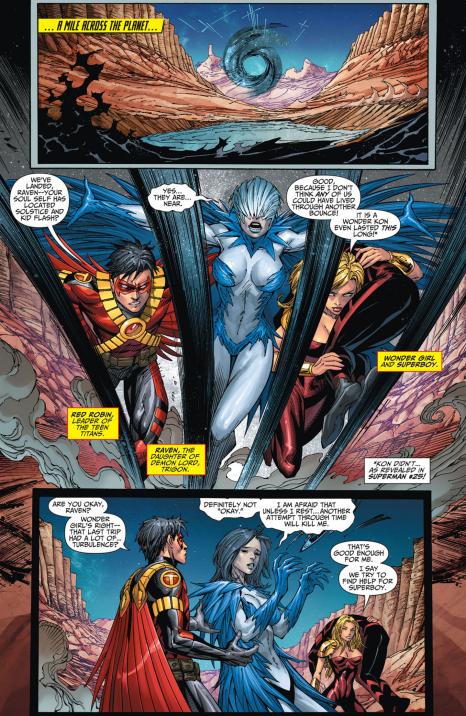 Teen Titans #25 Interior