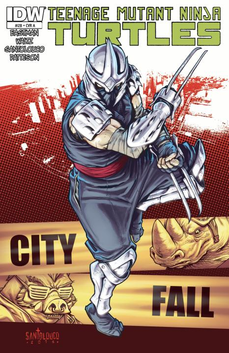 Teenage Mutant Ninja Turtles #28 (2013) - Page 1