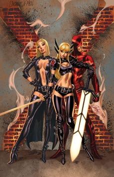 Uncanny X-Men #19.NOW J. Scott Campbell Var Cover
