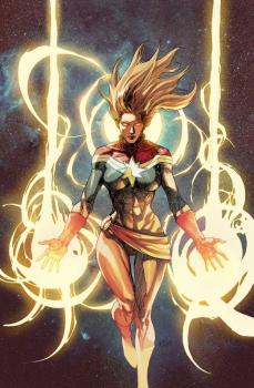 Captain Marvel #1 Leinil Yu Var Cover