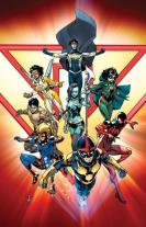 New Warriors #1 Marcus To Var Cover