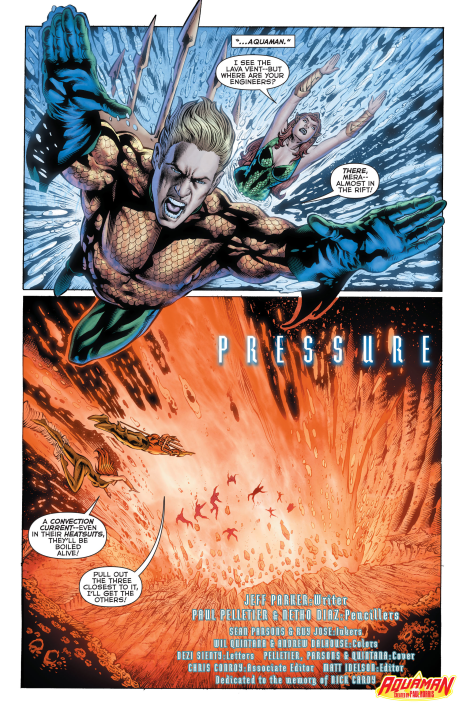 Aquaman #26 Interior