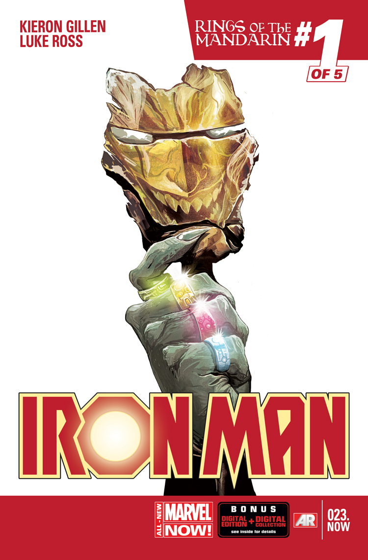Mandarin Iron Man Comics