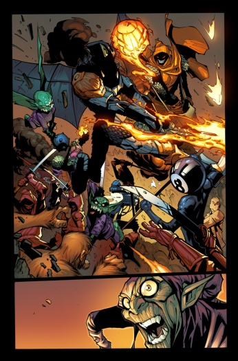 Superior Spider-man #26 Humberto Ramos Preview Art