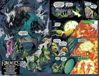 Green Lantern Corps #27 Preview 2 Art by Bernard Chang