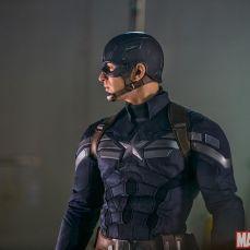 Chris Evans in Super Soldier Uniform
