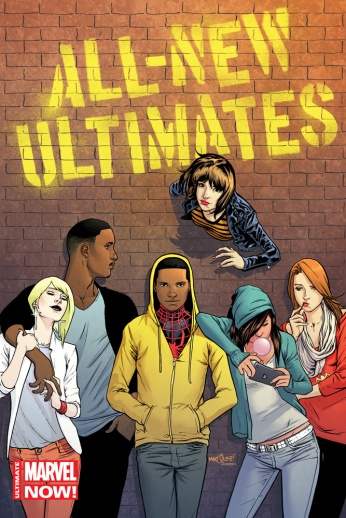 All-New Ultimates #1 Variant Cover by Dave Marquez