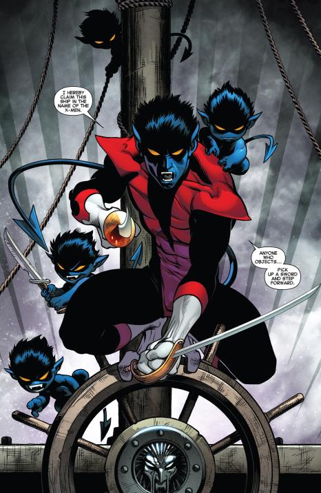 Amazing X-men #3 Interior