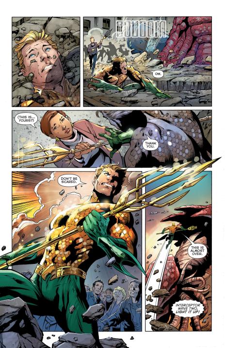 Aquaman #27 Interior
