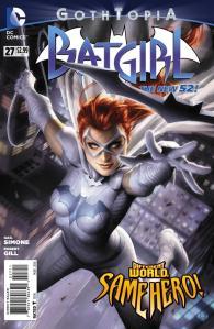Batgirl #27 Cover by Alex Garner