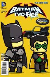 Batman & Two Face #27 Scribblenauts Var Cvr