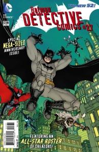 Batman: Detective Comics #27 Cover By Greg Capullo