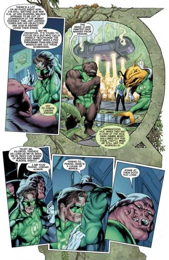 Green Lantern #27 Preview 5 Art By Dale Eaglesham