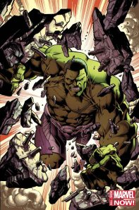 Hulk #1 Variant Cover By Mark Bagley