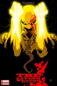 Iron Fist: The Living Weapon #1 Cover By Kaare Andrews