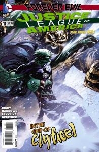 Justice League of America #11 Cover by Eddy Barrows/Eber Ferreria