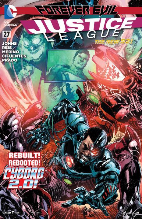 Justice League #27 - Page 1