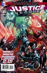 Justice League #27 Ivan Reis Reg Cvr