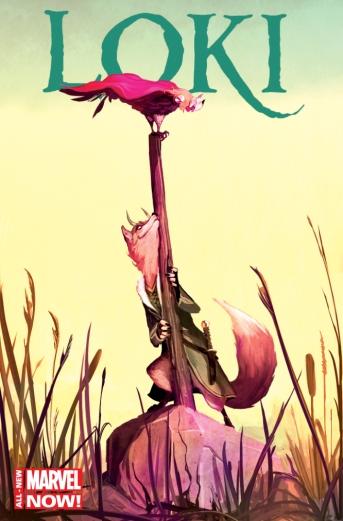 Loki: Agent of Asgard #1 Animal Variant by Mike Del Mundo
