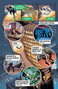 Loki: Agent of Asgard #1 Preview 1 Art by Lee Garbett