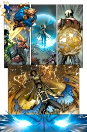 New Warriors #1 Preview 1 Art by Marcus To