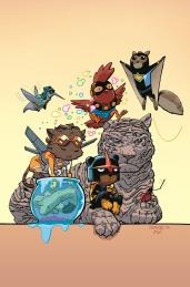 New Warriors #1 Animal Variant by Chris Samnee