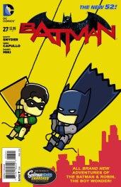 Batman #27 Scribblenauts Var Cvr