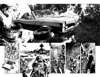 Original Sin #1 Preview 2 Art By Mike Deodato Jr.