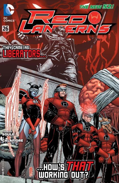 Red Lanterns #26 - Page 1