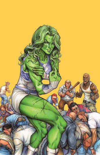 She-Hulk #1 Variant Cover by Siya Oyum