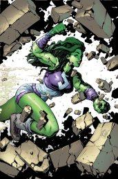 She-Hulk #1 Variant Cover by Ryan Stegman