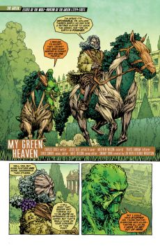 Swamp Thing #27 Preview 1 Art By Jesus Saiz