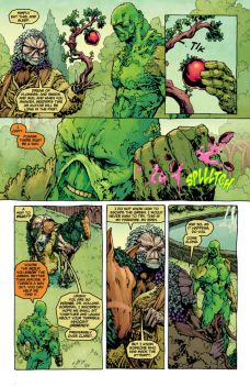Swamp Thing #27 Preview 3 Art By Jesus Saiz
