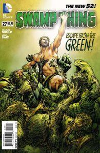Swamp Thing #27 Cover By Jesus Saiz