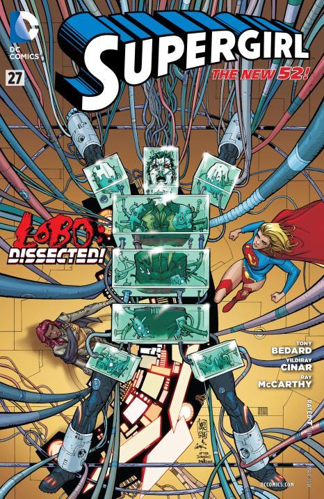 Supergirl V6 #27 - Page 1