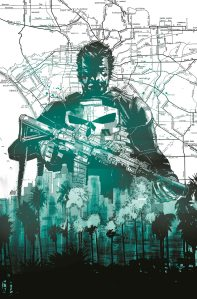 The Punisher #1 Cover By Mitch Gerads