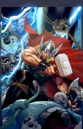 Thor: God of Thunder #19.NOW Clay Mann Var Cvr
