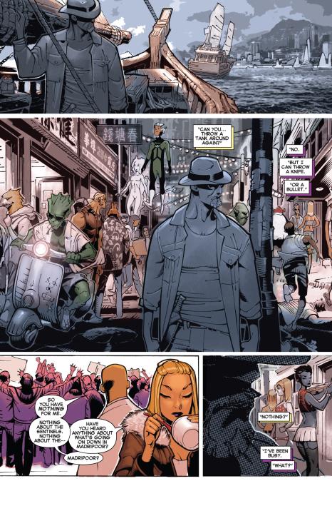 Uncanny X-men #16 Interior