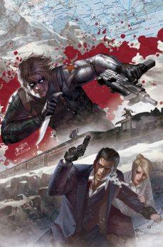 Winter Soldier: The Bitter March #1 In-Hyuk Lee Var Cvr