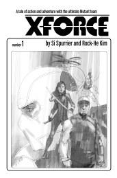 X-Force #1 Phil Noto Sketch Var Cover