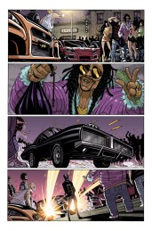 All-New Ghost Rider #1 Preview 1 Art by Tradd Moore