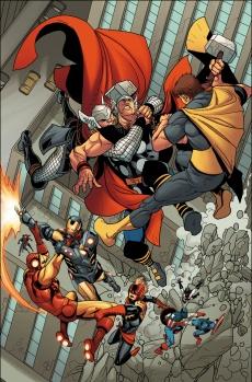 Avengers #27 Preview 1 Art by Salvador Larroca