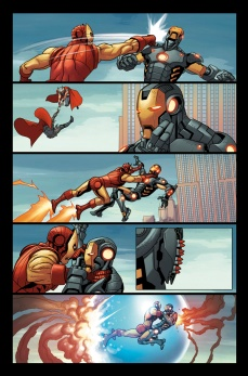 Avengers #27 Preview 2 Art by Salvador Larroca