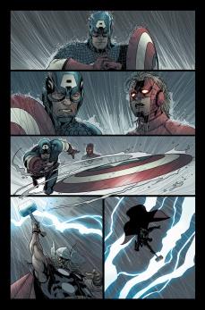 Avengers #27 Preview 3 Art by Salvador Larroca