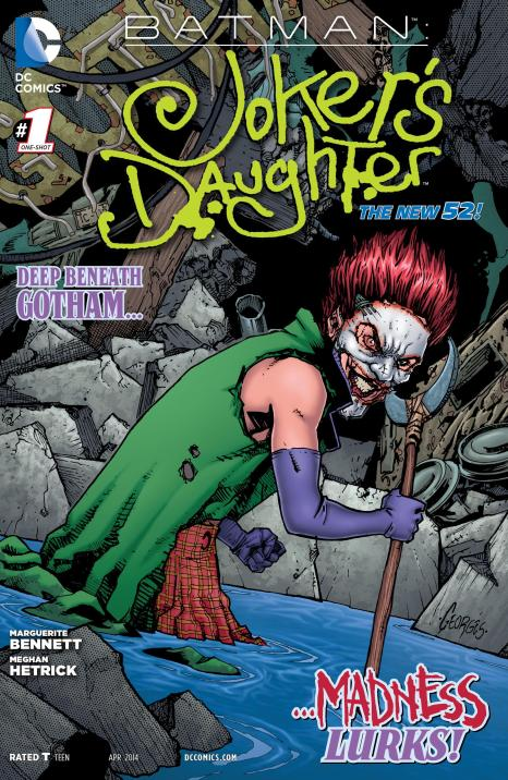 Batman - Joker's Daughter #1 - Page 1