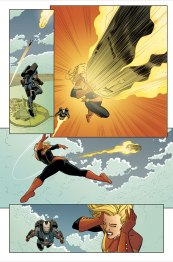 Captain Marvel #1 Preview 3 Art by David Lopez