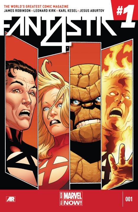 Fantastic Four #1 - Page 1