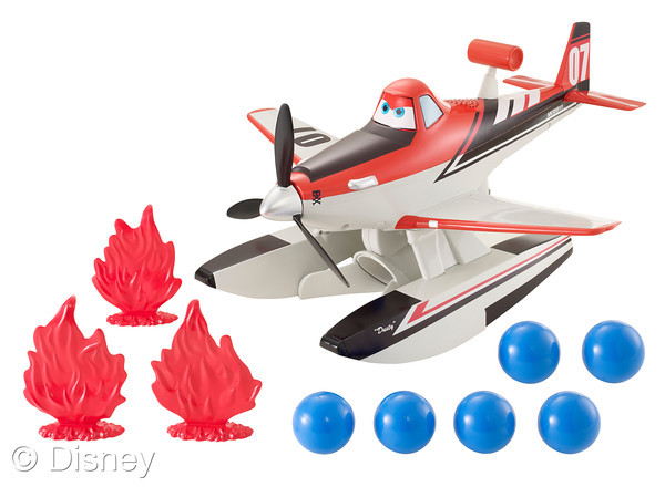 Planes Fire Blastin' Dusty Crophopper toy by Mattel