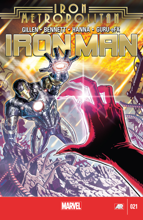 Iron Man #21 Cover