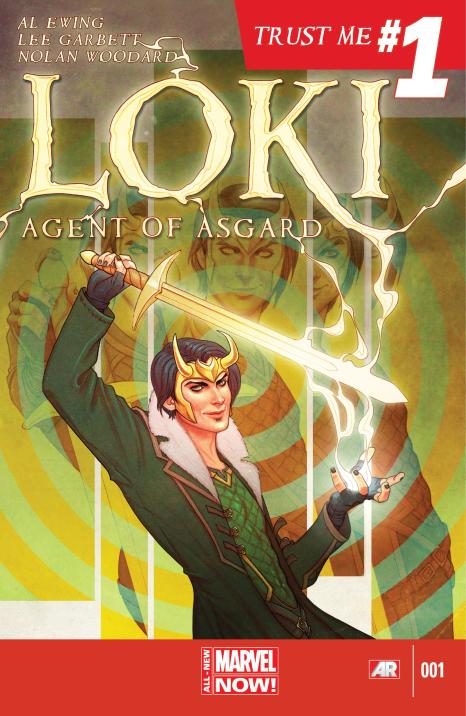 Loki Agent of Asgard #1 - Page 1
